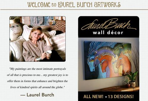 Laurel Burch Website Photo