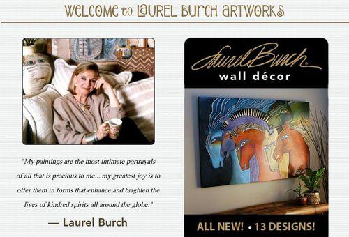 Laurel Burch Website Photo