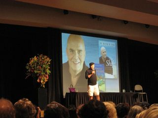 Wayne Dyer on stage