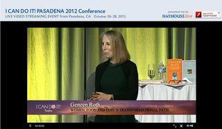 Geneen Roth 2012 Pasadena ICDI