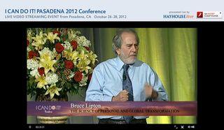Bruce Lipton 2012 Pasadena ICDI