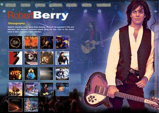 Robert Berry website homepage 112713